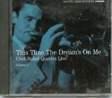 CHET BAKER   * THIS TIME THE DREAMS ON ME CD*  QUARTET LIVE* PACIFIC JAZZ 2000