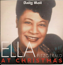 Ella Fitzgerald At Christmas Promo from The Daily Mail -In Card SlipSleeve UK CD