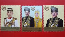 2019 Malaysia Coronation KDYMM YDP Agong XVI - Stamp Set