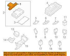 FORD OEM Fuse Relay-Top Cover DG9Z14A003AA