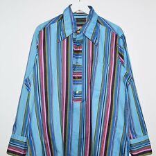 Vintage NOS Unworn I. Magnin Durable Press Status Quo Half Button Up Shirt XL