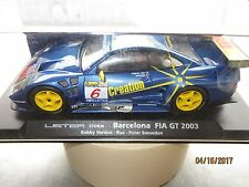 FLY LISTER STORM BARCELONA FIA GT 2003 BOBBY VERDON-ROE-PETER SNOWDON 1/32