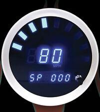 """Cyberdyne Gauges Digital Prism Gauge Speedometer - 3 3/8"""""""