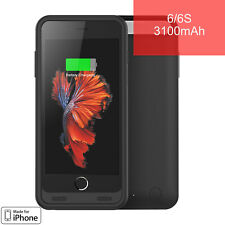 [Mfi] girafus ® 3100mAh Batería externa iPhone 6/6S de gama alta Cubierta estuche Ultra Delgado