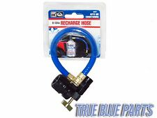 Interdynamics 401P A/C R134A Charging Hose W/ Valve & Can Tap AC Recharge