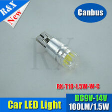 2 X ERROR FREE CANBUS CREE 501 1.5W LED SIDELIGHT WHITE BULBS XENON T10 W5W 194