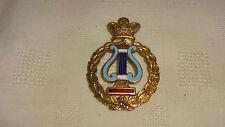 Rare 1931 Sterling Silver & Enamel Masonic Minstrel Medal / Jewel