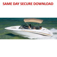 2004 Yamaha SR230 Sport Boat Service Manual  FAST ACCESS