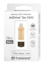 Transcend JetDrive Go 500 Gold 64GB USB Flash Drive