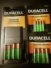 Duracell Rechargeable Value Charger+ pack of 4AA and 4AAA