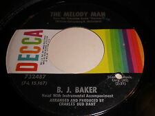 B.J. Baker: The Melody Man / Anywhere 45