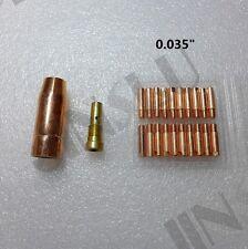 """0.035"""" Contact Tip 20PK 130EN 180EN Clarke Mig Torch Welding Gun Stinger Welder"""