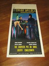LOCANDINA,Edgar Wallace racconta.due cadaveri per un bacio...Addams Goodlife,