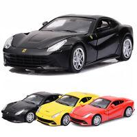1:32 Ferrari F12 Berlinetta Die Cast Modellauto Spielzeug Pull Back Sammlung