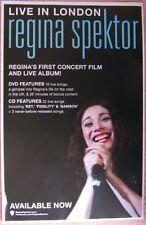 REGINA SPEKTOR Live In London POSTER 2-Sided 11x17
