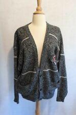 1990's 90's VINTAGE Hip Hop Biggie BCFW CLUB Cardigan Cosby Sweater L