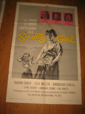 Sorority Girl Original 1sh Movie Poster