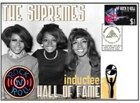 THE SUPREMES ROCK n ROLL HALL OF FAME INDUCTEE COVER