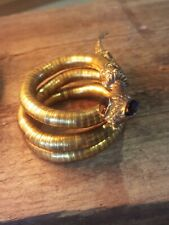 More details for beautiful 💟 vintage brass snake look!