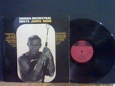 SOUNDS ORCHESTRAL MEETS JAMES BOND   LP  Thunderball Goldfinger etc