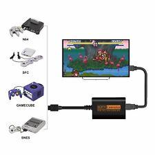 Convertidor Adaptador de HDMI Cable Hd Para Nintendo 64/SNES/NGC/SFC Gamecube Consola
