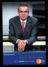 Michael Opoczynski ZDF Autogrammkarte Original Signiert ## BC 26054
