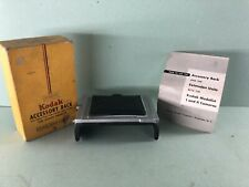 Kodak Medalist Accessory Ground Glass Back, Extension & Sheet Film Holder - Ex
