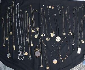 Lot Of Goth/Steam Punk Jewelry