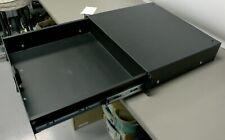 Middle Atlantic 2RU Rack Driver Drawer Handle Rails Metal Black Cabinet Studio