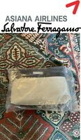 Salvatore Ferragamo Asiana Airlines First Class Suite Amenity Kit, Luxury SEALED