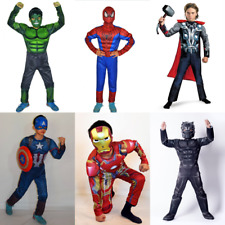 Kinder Jungen Spiderman Cosplay Kostüm Karneval Party Jumpsuit Overall Fasching