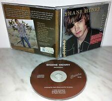 CD SHANE HENRY - DELIVERANCE
