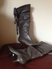 Zip Kitten Casual 100% Leather Upper Shoes for Women