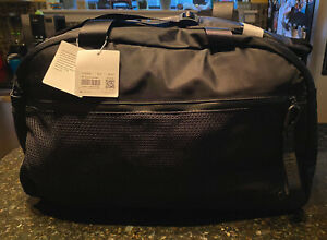 Lululemon All Hours Duffel Bag LARGE 43L Black Gym Travel $158 NWT SOLD OUT
