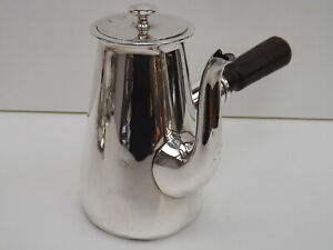 Antique Early 20th Century Mappin & Webb Silver Plated Chocolate Pot