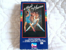 A NIGHT IN HEAVEN VHS LESLEY ANN WARREN CHRISTOPHER ATKINS MALE STRIPPER SLEAZE