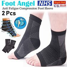 2x Compression Wear Foot Pro Relieves Plantar Fasciitis Heel Pain Sleeve Socks