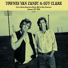 Townes Van Zandt & Guy Clark - Live at GAMH - NEW SEALED import 180g 2 LP set
