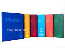 ALBUM FOTOGRAFICO X 200 FOTO 13X19 (13x18 13x17 12x18 12x16) libro a tasche MEMO
