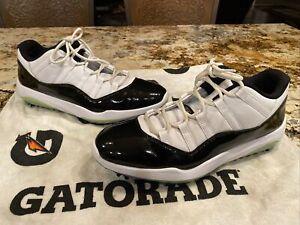 Nike Air Jordan XI 11 Low Concord Golf Shoes AQ0963-101 Size 15 RARE FREE SHIP