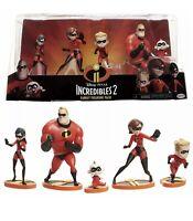 Incredibles 2 Family Figure 5 Pack Mr Mrs Incredible Violet Dash Jack Jack Doll
