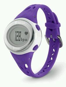 NIB Oregon Scientific SE332 Gaiam FITNESS TRAINER Heart Rate Monitor ~ Purple