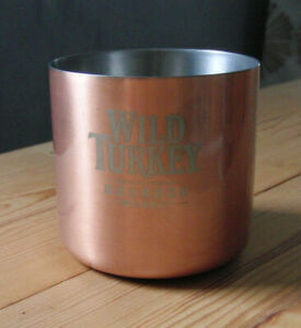 WILD TURKEY KENTUCKY BOURBON WHISKEY Copper Cup  - Whisky Limited Edition Promo