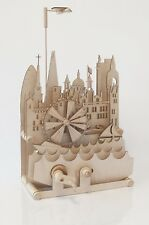 London Cityscape - Timberkits Self-Assembly Wooden Construction Moving Model Kit