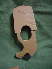 USGI GERBER STRAP CUTTER, COYOTE BROWN, NEW IN BAG