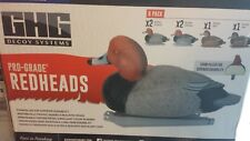 Greenhead Gear FOAM FILLED Pro-Grade Redhead Duck Decoys Avery GHG