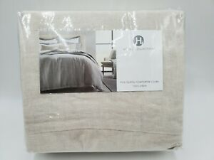 Hotel Collection Linen Full Queen Duvet Cover In Natural