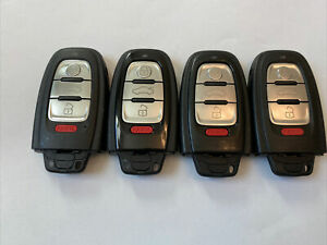 OEM Audi A6 S6 Smart Key Transmitter Remote 8T0959754G  And A 4 Button