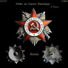 Ordre de Guerre Patriotique 2 Classe- Russe-URSS-Russie-CCCP-