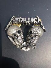 Magnifique grand PIN'S du groupe Metallica de 1993 made in England